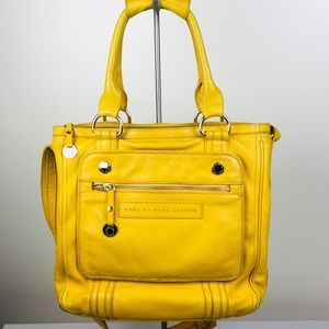 Marc by Marc Jacobs Yellow Large Satchel Purse